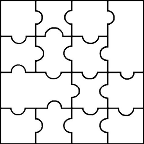 Printable Puzzle Pieces Template Dakotaflower Com Home Puzzle Templates Free
