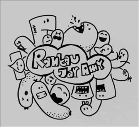 gambar desain yang mudah di tiru cara gambar doodle dengan mudah gambar v