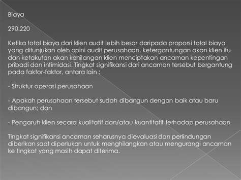 membuat opini audit presentation1 translate