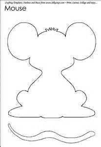 mouse template mouse paint template search kindergarten