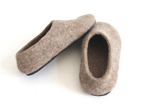 organic slippers womens felt forma s organic wool felt house shoes quot rustic