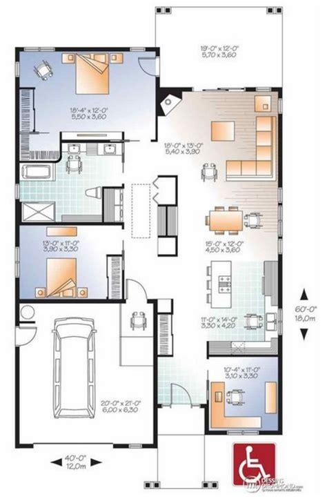 planos casas americanas plano de casa de 160 m2 planos de casas modernas