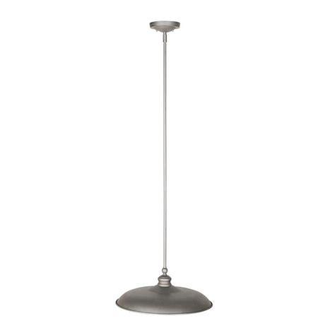 Galvanized Pendant Light Design House Kimball 1 Light Galvanized Steel Indoor Pendant 519843 The Home Depot