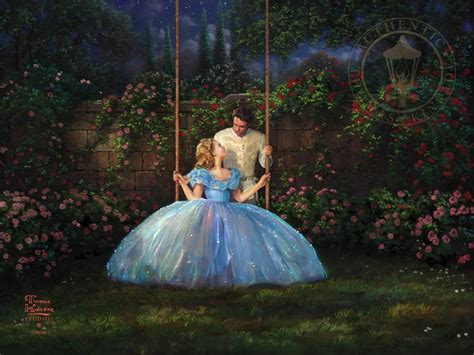 painting cinderella dreams come true the kinkade company
