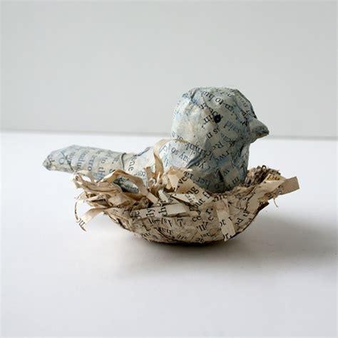 Make Paper Mache Birds - paper mache bird paper mache