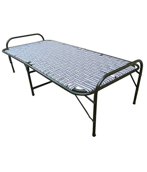 Folding Single Bed Aggarwal Classic Single Size Folding Bed Buy Aggarwal Classic Single Size Folding Bed