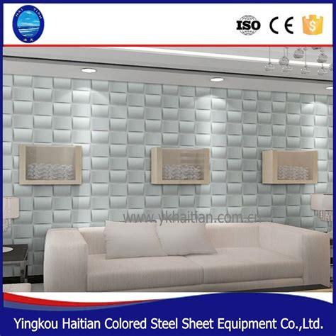 pas cher panneau mural moderne mur d 233 cor pvc 3d plafond couvrant panneaux pour maison