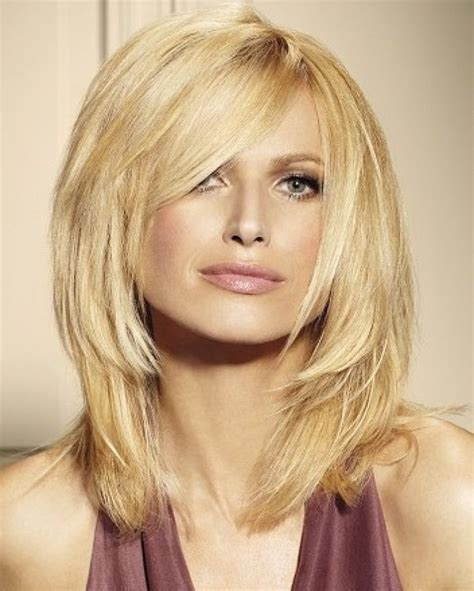 mid length hairstyles for fine hair uk medium length hairstyles for fine hair over 50