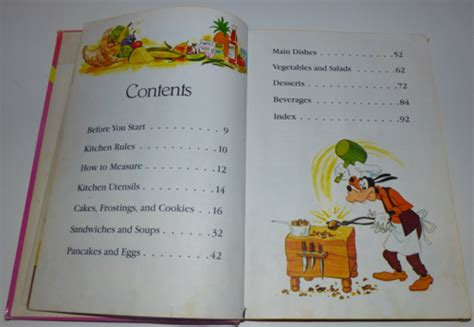 Mouse Kitchen Book Walt Disney S Mickey Mouse Cookbook Lost Found Vintage