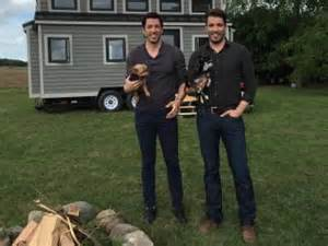 The night in a tiny house in the new digital series tiny house arrest