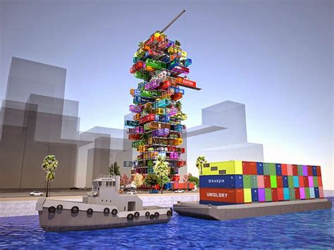 mobiles wohnen container shipping container quot cargotecture quot not all it s stacked up