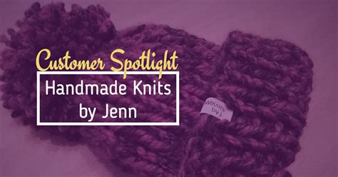 Handmade By Jenn - customer spotlight handmade knits by jenn wunderlabel