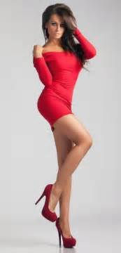 red dress amp red stilettos what more