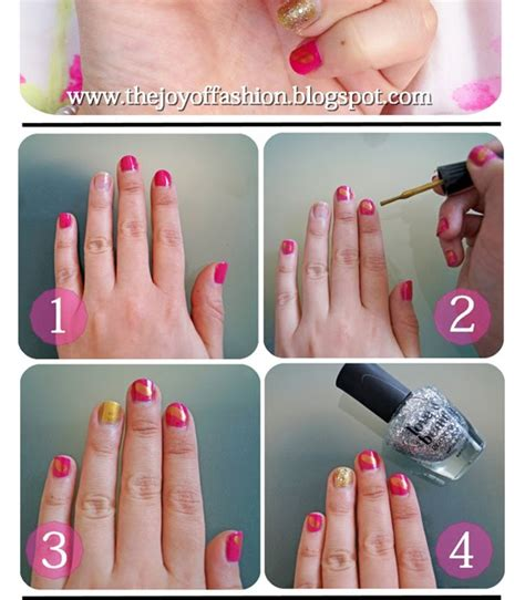 Fashion Gw 249 G Gs4523 the of fashion pink gold nail tutorial
