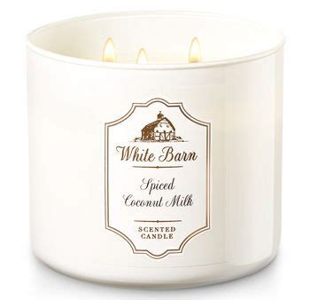 white barn top candles top selling spiced coconut milk white barn scented candle review