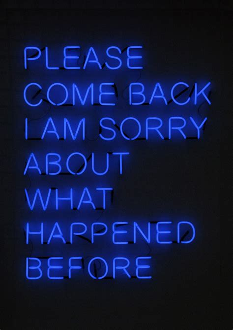 Come Back by Come Back Tim Etchells