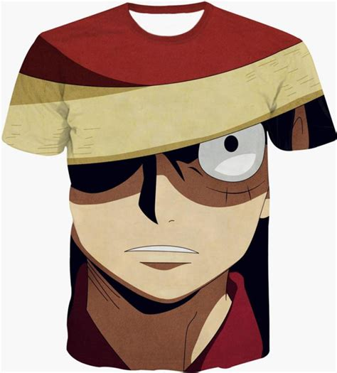 T Shirt Monkey D Luffy one monkey d luffy 3d wear tshirt
