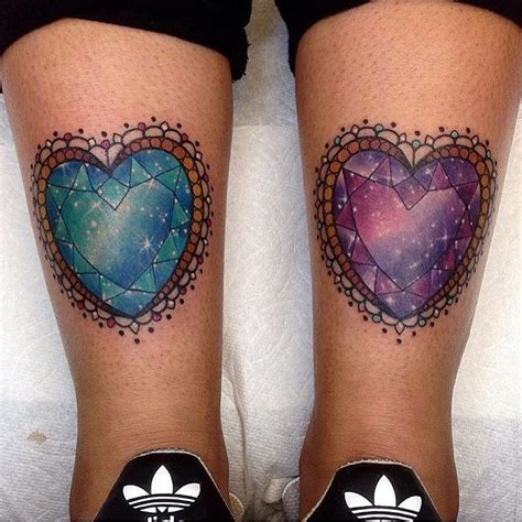 simple tattoo gem matching heart gem stones tattoo venice tattoo art designs