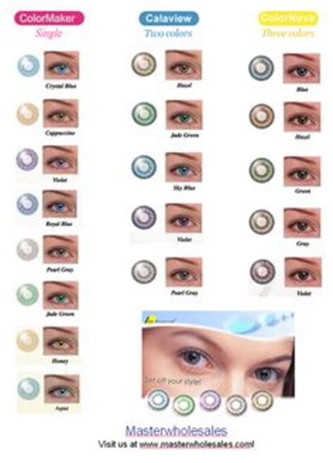 color enhancing contacts acuvue color chart guide to the best colored contacts
