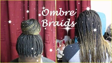 braiding method for ombre ombre braids neatest method youtube