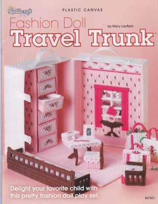 fashion doll travel trunk free plastic canvas fashion doll travel trunk other