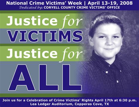 Office Of Victims Of Crime by Coryell County Crime Victims Office By Marc Dickelman At