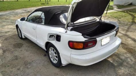 1992 toyota celica convertible gt 2 2 liter 5 speed manual transmission look classic toyota
