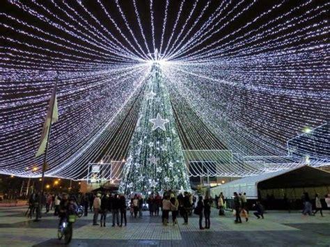 iluminacion navideña bogota 2018 alumbrado de navidad en bogot 225 2014 youtube