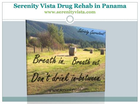 Serenity Recovery Detox California by Sobriety And Recovery Slogans From Rehab In Panama