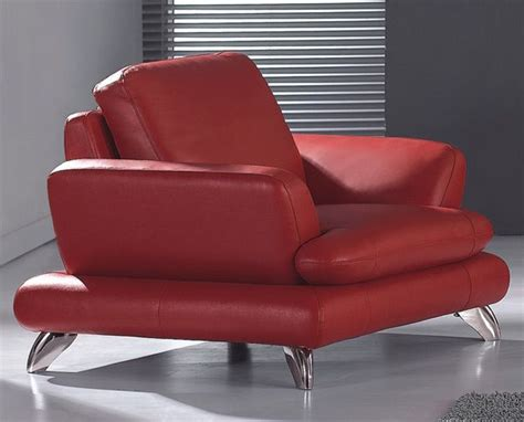 european contemporary style leather armchair