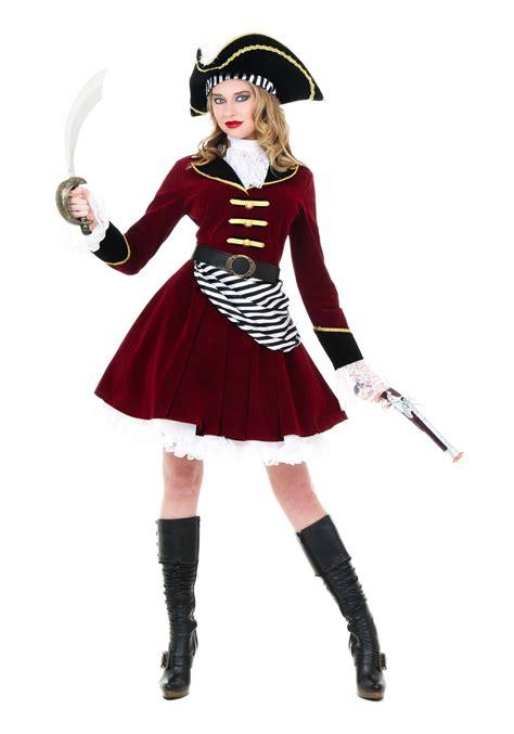 halloween costumes women s captain hook costume with hat