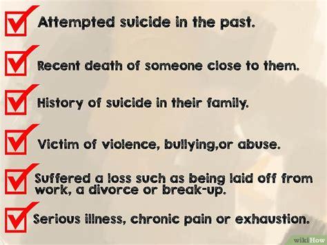 lettere suicidio 3 modi per prevenire un suicidio wikihow