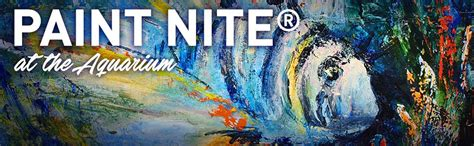 paint nite york events paint nite 174 ripley s aquarium of canada