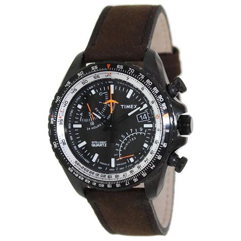 timex s intelligent iq aviator fly back chronograph