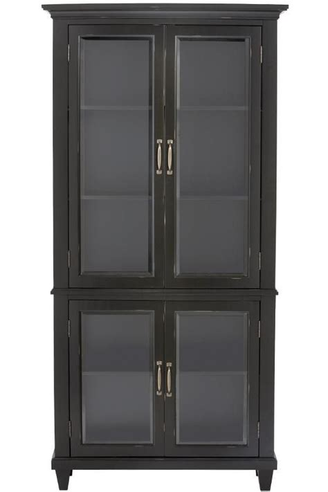 martin ivory glass door bookcase martin glass bookcase from home decorators there s no