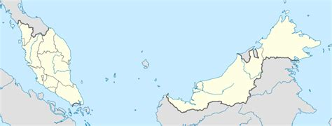 malaysia vector map file malaysia location map svg wikimedia commons