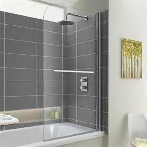 Shower Over Bath Designs 800 Mm Shower Bath Screen Easyclean Bathempire