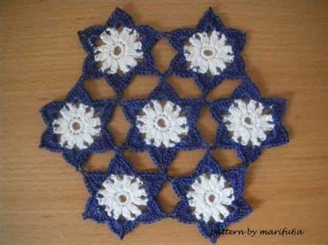 download crochet tutorial merajut motif sisik crochet pattern flowers motif doily tutorial youtube
