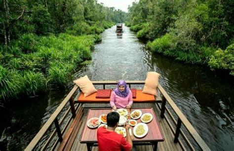 susur sungai mentaya wisata favorit warga kalteng