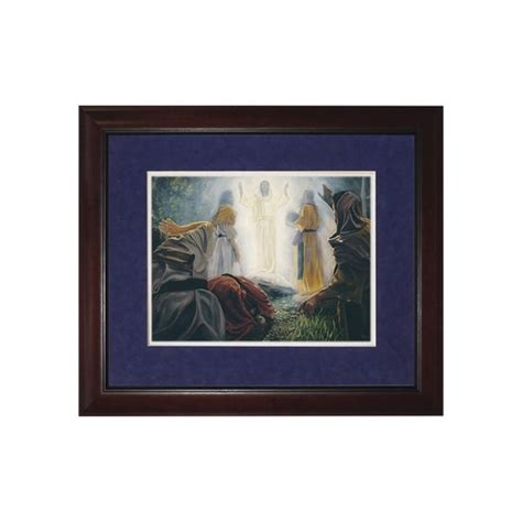 14 X 22 Matted Frame by The Transfiguration Matted W Cherry Frame The
