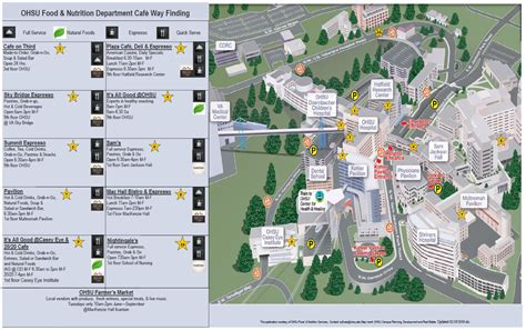 map of oregon hospitals ohsu map my