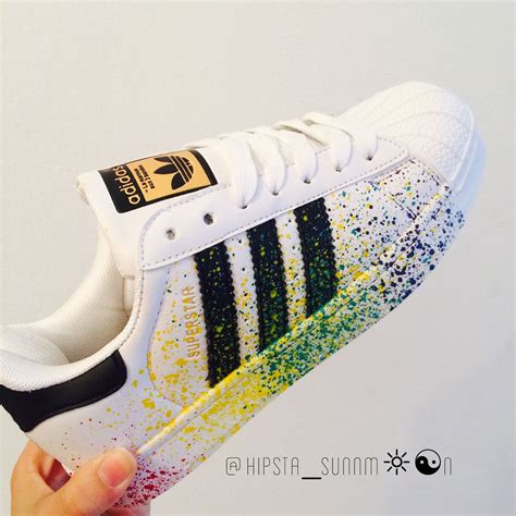 Sepatu Adidas Superstars jual sepatu adidas superstar splash colour premium miduk