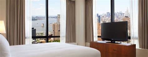 auf suite schlafzimmer millennium new york downtown hotels an der