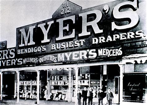 meyer australia a century of history for sale in biography of an emporium