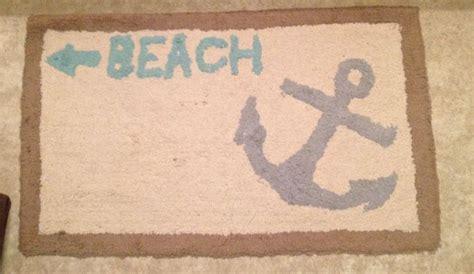 images  beach themed bathroom  pinterest nautical rugs beach theme bathroom