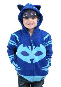pj masks cat boy hooded costume sweatshirt toddlers