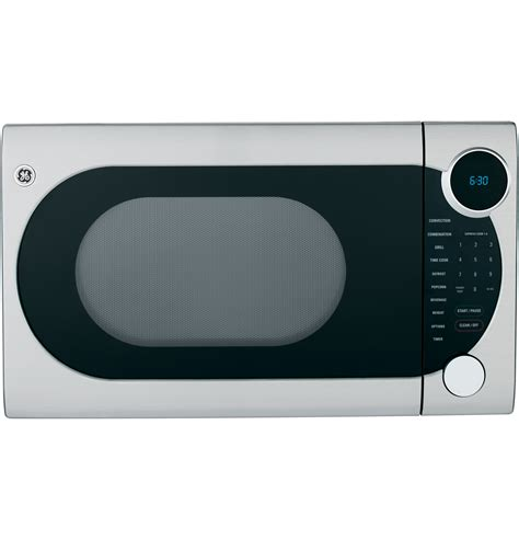 Ge Convection Microwave Countertop by Ge 174 1 2 Cu Ft Countertop Convection Microwave Oven