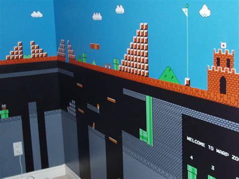 mario wall mural www gameinformer