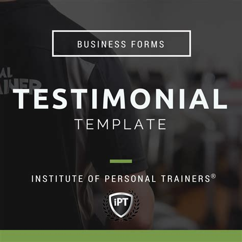personal trainer testimonial template personal trainer marketin advice institute of personal