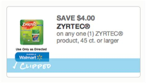 printable zyrtec coupon 2014 new printable coupons for zyrtec pet food and more